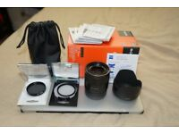 Sony FE 55mm F1.8 ZA Carl Zeiss Sonnar T* Lens ( will post, read description)