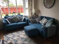 Dfs teal sofas REDUCED