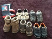 Boys Footwear bundle. 6 Pairs size 5 & 5.5
