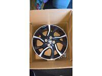 toyota yaris alloy wheels X 2 2015 model