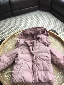 Gap down girls size 4T winter coat