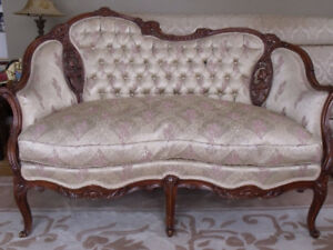 Antique Loveseat French Provincial