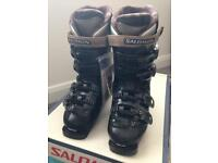 Ladies Salomon Evolution Ski Boots 23.5