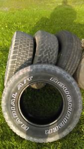 4 truck tires