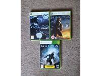 Xbox 360 Halo 3, Halo 3 ODST & Halo 4