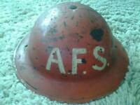 Ww2 AFS helmet (a peace of the battle of Britain)