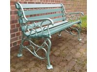 Old garden benches wanted.