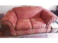 Kirkdale 2 seater sofa and matching chair