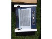Cooker hood / extractor fan unused in box, brushed steel finish