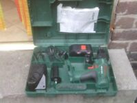 BOSCH CORDLESS DRILL WITH CHARGER £25