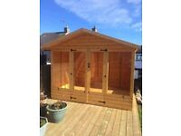 10ft x 8ft Summer House with 10% DISCOUNT