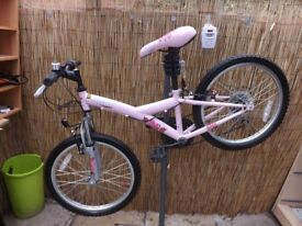 childs Opollo kinx pink bike