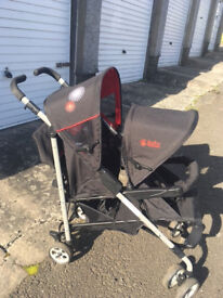 Baby Weavers Tandem Double Pushchair