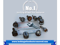 Locking wheel nut removal, 100% success Guaranteed, any vehicle, Mobile service available.