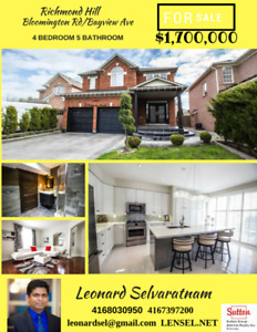 Absolutely amazing Richmond Hill home for sale - do not miss out