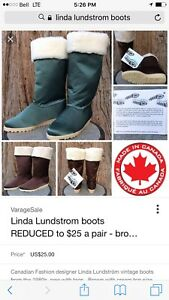 Linda lundstrom boots
