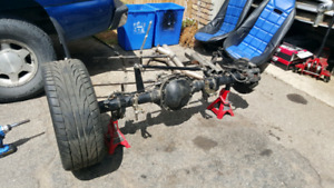 Ford 8.8 rear and ladder bar coil over suspension