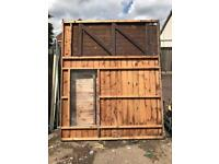 8x6 garden shed needs repairs