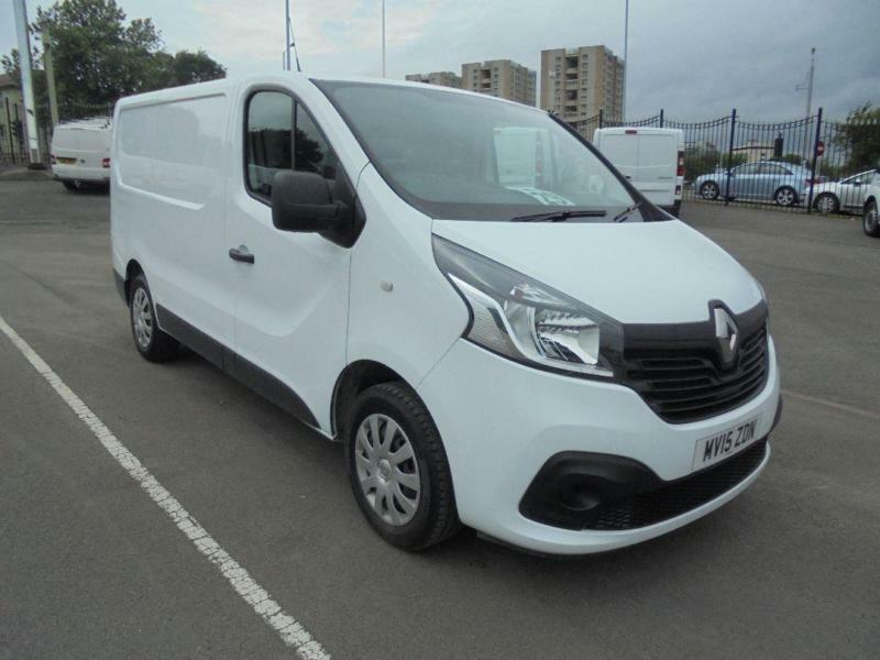 Renault Trafic Sl27 Energy Dci 120 Business+ Van DIESEL MANUAL WHITE (2015)
