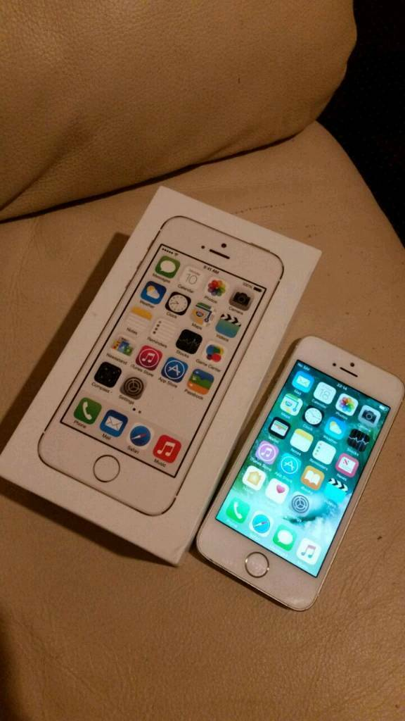 IPhone 5s gold Excellent conditionin Derby, DerbyshireGumtree - Iphone 5s gold colour 32GB Excellent condition unlocked any network box and charger price£120 or near offer text me no time waster !!!!
