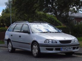 Toyota Avensis 1.8 GS 5dr£799 p/x welcome ESTATE,1 OWNER,LONG MOT