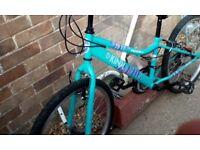 Girls 24inch hybrid bike