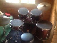 Drum kit , tornado mapex