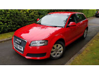 2009 AUDI A3 SPORTBACK 2.0 TDI 140BHP,SAT-NAV,FULL HEATED LEATHER,EXCELLENT CONDITION