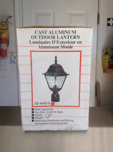 Cast Aluminum Outdoor Lantern