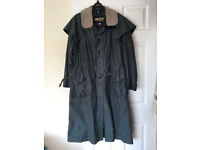"""Ladies Musto """"Suffolk"""" Riding Coat - full length, size """"S"""", green. Hardly worn."""