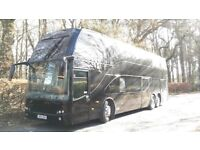 WANTED parking for double decker coach with 3phase power