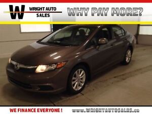 2012 Honda Civic SUNROOF|LEATHER|HEATED SEATS| 130,735 KMS|