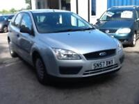 Ford Focus 1.6TDCi ( 90ps ) 2008 Studio DIESEL,ONE PREVIOUS OWNER UP TO 70 MPG