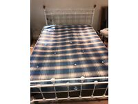 Double Bed and Mattress in Perfect Condition