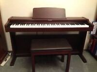 Technics SX-PC26 Digital Piano & Stool, full size 88 weighted keys, 2 pedals