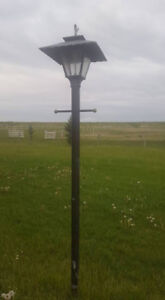 Natural Gas Post Lantern