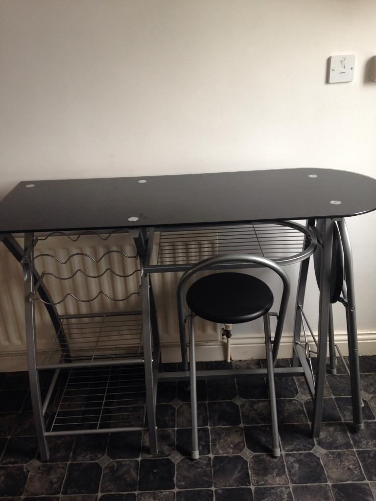 kitchen breakfast bar table | in tow law, county durham | gumtree