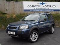LAND ROVER FREELANDER 2.0 TD4 HSE 3d AUTO 110 BHP NEW MOT AND SERVICE (blue) 2005