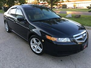 2006 ACURA TL SUNROOF BLACK CAMEL LEATHER LOADED