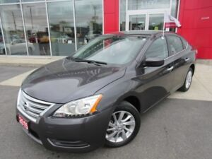 2015 NISSAN  SENTRA SV PKG ALLOYS CAMERA H-SEATS FINANCE FROM 2.