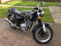 125 cc AJS Cadwell Cafe Racer - 66 Plate 180 miles