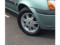 Full Set of Ford Fiesta 4x108 Alloy Wheels in Good Condition with Tyres. (14 inch)