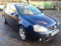 **STOCK CLEARANCE - Offers Considered** VW Golf GT TDI 2.0 (140) 2004 Reg, S/Hist, MOT Feb 2018