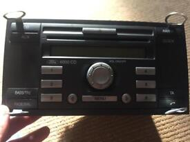 Ford 6000 CD Head Unit CD player and radio