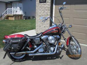 1998 Harley Dyna Wide Glide  $9000.