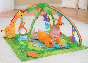 Fisher Price Rainforest Playmat (music, toys, lights)