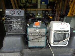 space heaters , u pick or take them all!