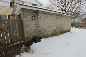 NEED STORAGE OR PARKING? - Year Round Detached Garage For Rent!