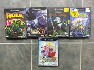 Gamecube Games and memory cards