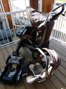 Carseat and Stroller( Chicco keyfit30 travel system)